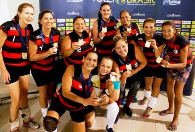 Flamengo fica com o título na 55+ feminina