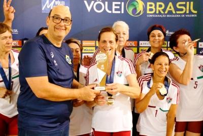 Fluminense conquista título na categoria 63+ feminino