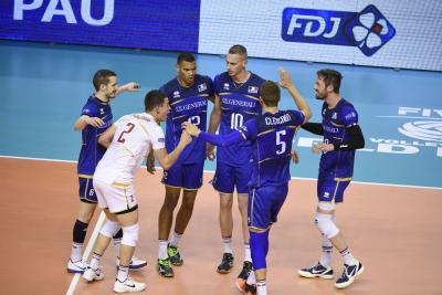 França é primeira classificada e garante presença na fase final, em Curitiba