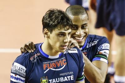 Funvic Taubaté recebe JF Vôlei para segunda rodada das quartas de final
