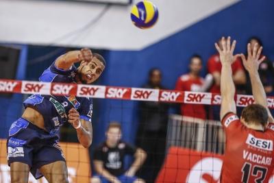 Funvic Taubaté vence o Sesi-SP e abre vantagem na série pelas semifinais