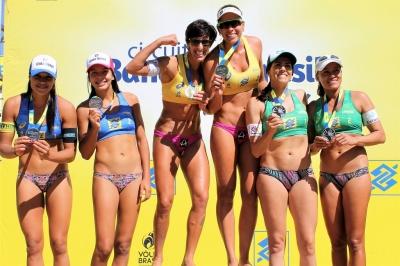 Josi/Lili (SC/ES) e Fernandão/Bruno (ES/AM) são campeões na primeira etapa
