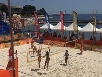 Juliana e Carol Horta conquistam torneio em Mônaco