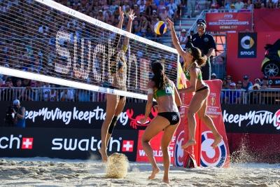 Larissa e Talita disputam o bronze em Viena