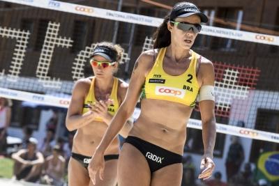 Larissa e Talita vão à semifinal do Major Series de Gstaad