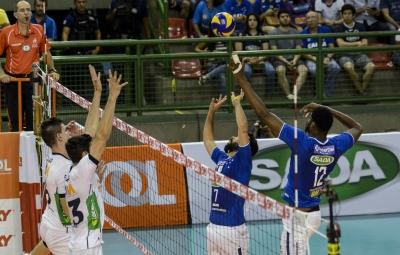 Minas Tênis Clube duela com o Sada Cruzeiro neste sábado
