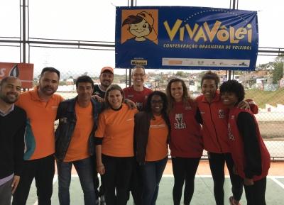 Núcleo Mogi das Cruzes (SP) é inaugurado com visita de atletas do Sesi-SP