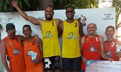 Pablo e Vinicius conquistam competição de Vôlei de Praia no Piauí