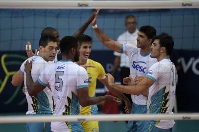 Primeira rodada dos playoffs fecha com vitória de Sesc-RJ, Blumenau e Jaó