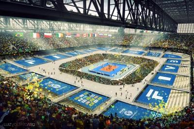 Projeto adapta estádio de futebol