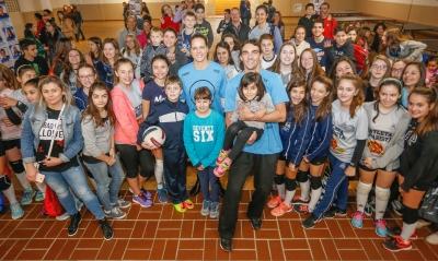 Projeto agita Curitiba às vésperas da Liga Mundial