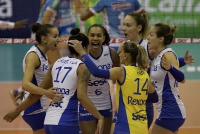 Rexona-Sesc vence Camponesa/Minas e está na final