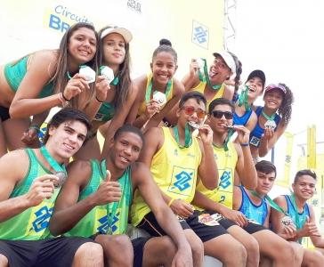 Rio de Janeiro e Paraíba ficam com o ouro em Lauro de Freitas (BA)