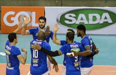 Sada Cruzeiro e Lebes/Gedore/Canoas se enfrentam na terceira partida do playoff