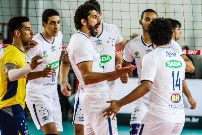 Sada Cruzeiro e Montes Claros Vôlei voltam a se enfrentar nesta quinta-feira