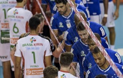 Sada Cruzeiro e Vôlei Brasil Kirin se enfrentam neste sábado