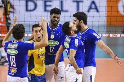 Sada Cruzeiro passa pelo Brasil Kirin e é o primeiro finalista