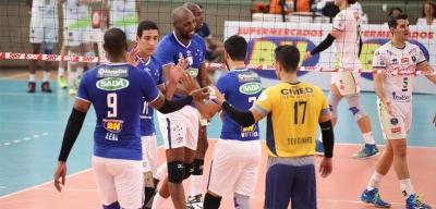 Sada Cruzeiro vence Bento Vôlei Isabela e segue invicto