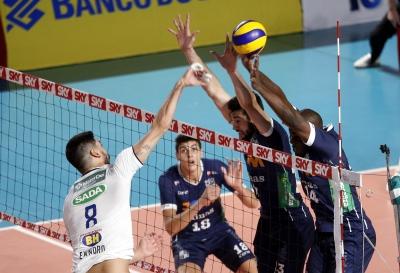 Sada Cruzeiro vence clássico mineiro contra o Minas Tênis Clube