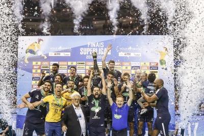 Sada Cruzeiro vence Funvic Taubaté e conquista quinto título