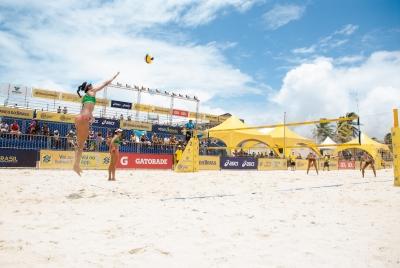Semifinais do torneio feminino são definidas em Natal (RN)