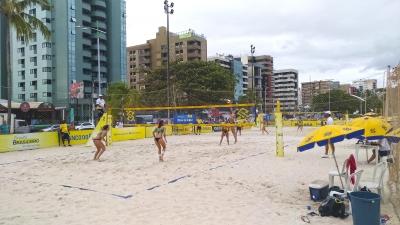 Semifinais são definidas em Maceió com duplas do quali e atleta da casa
