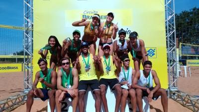 Sergipe e Ceará levam o ouro pela primeira vez em etapa de Bauru (SP)