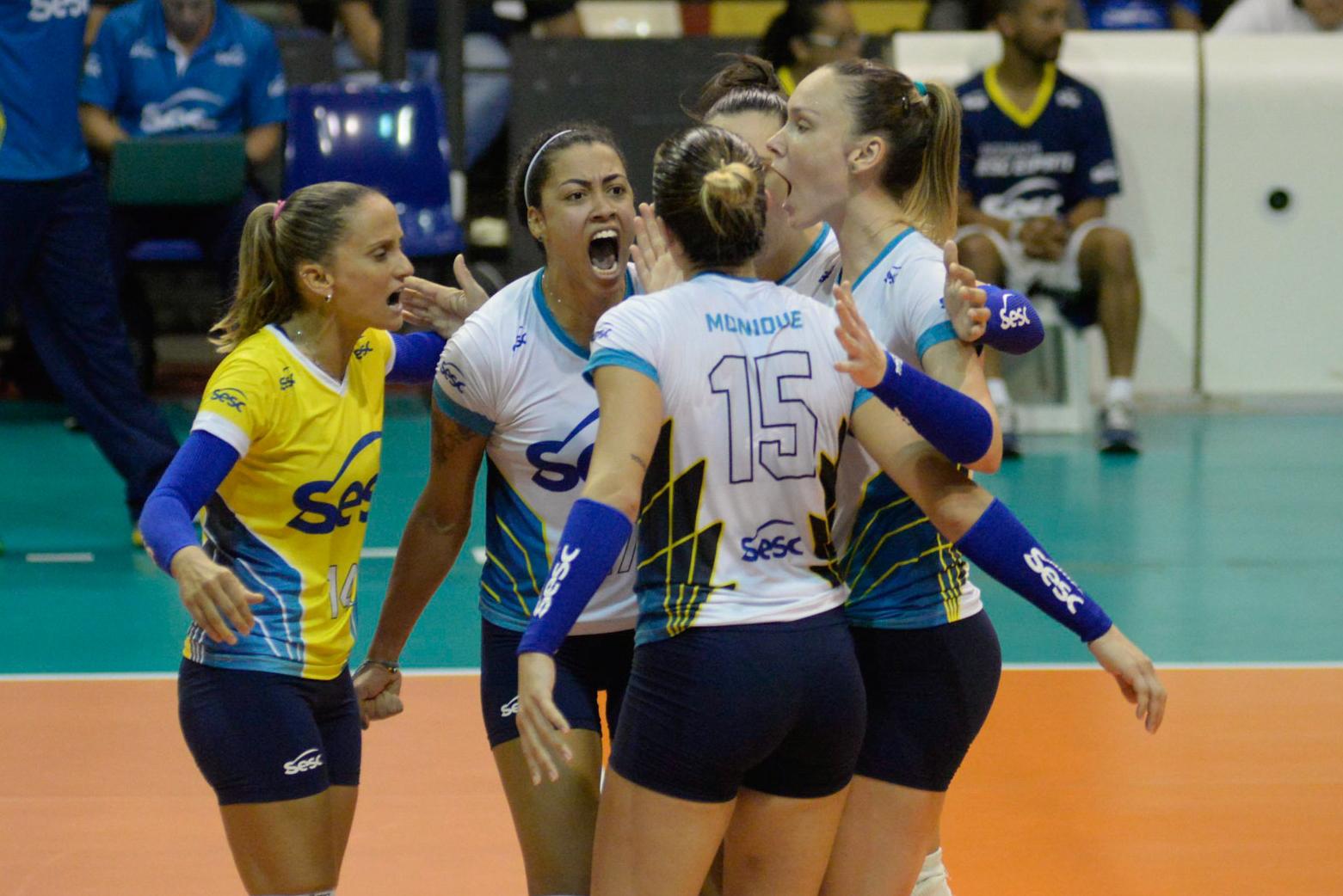 Sesc RJ e Camponesa/Minas decidem o título nesta sexta-feira