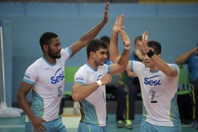SESC-RJ vence clássico no Rio e segue invicto