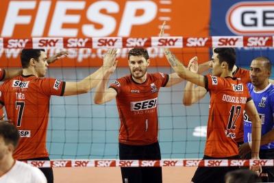 Sesi-SP recebe o Minas para terceiro jogo da série