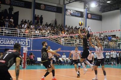 Sesi-SP vence o Corinthians-Guarulhos em partida de grande equilíbrio