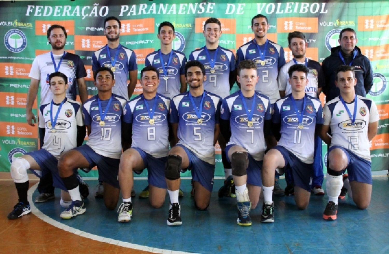 Telêmaco Borba conquista o título da segunda etapa do Paranaense Sub-17