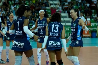 Terracap/BRB/Brasília vence Dentil/Praia Clube e empata a série