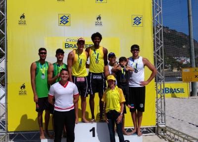 Thiago/George vence etapa na Urca (RJ), e Allison/Arthur leva título da temporada