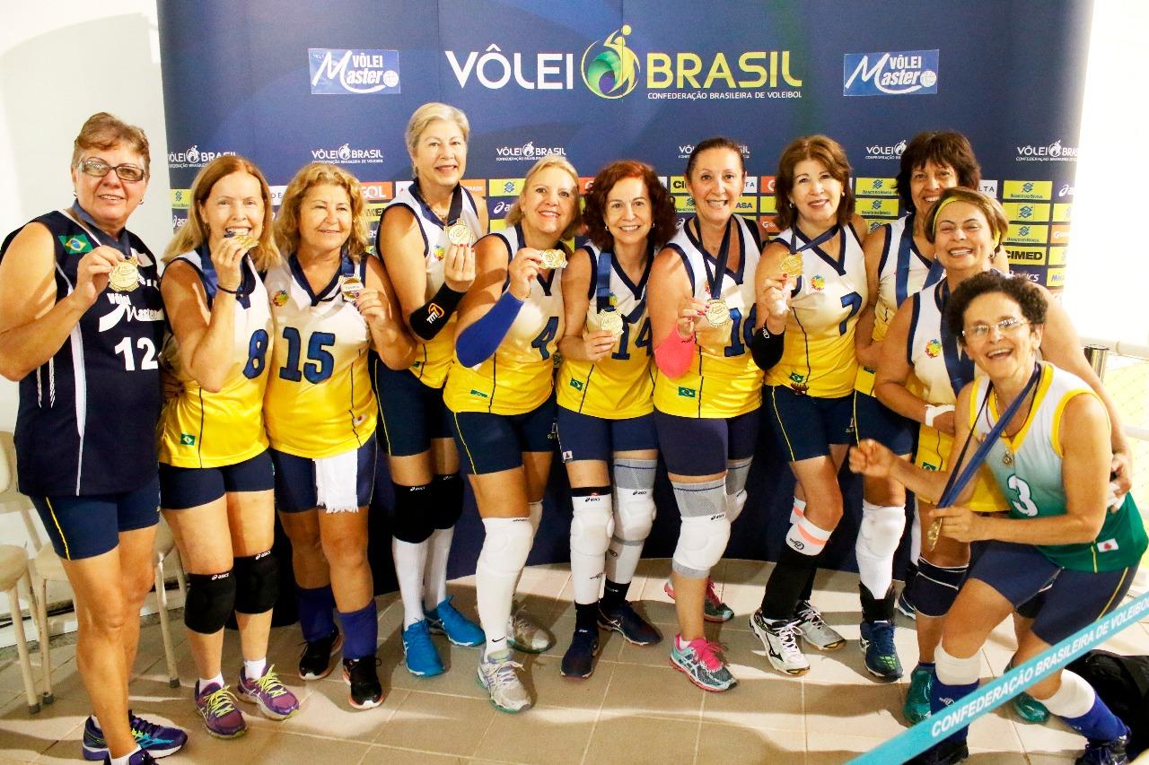 UAI Brasil (MG) confirma ouro na 59+ feminina