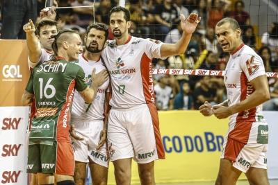 Vôlei Brasil Kirin recebe motivado Minas Tênis Clube nesta quarta-feira