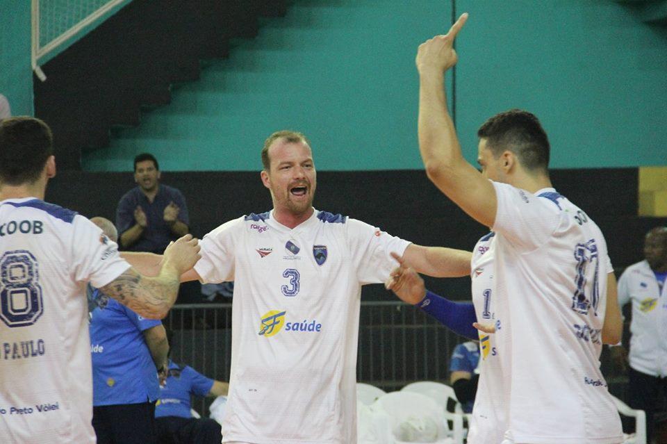 Vôlei Ribeirão Preto fica com o título; Vôlei Santo André consegue acesso