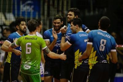 Sesc RJ vence São Francisco Saúde/Vôlei Ribeirão no tie break
