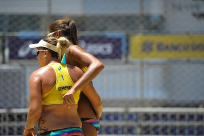 Ana Patrícia e Rebecca avançam à semifinal da etapa chilena