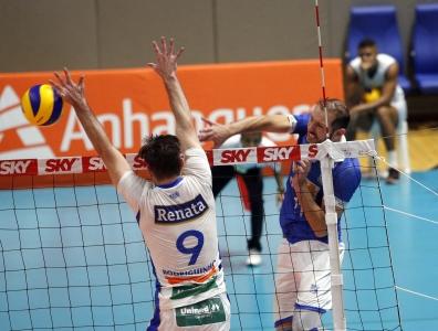 Em casa, Minas Tênis Clube vence Vôlei Renata