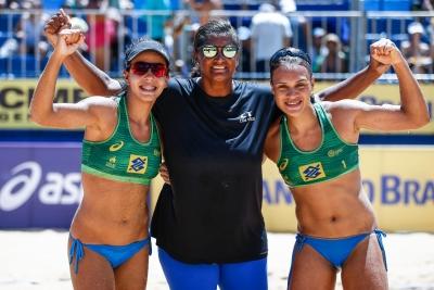 Em primeira final na carreira, Tainá/Victoria encara Ágatha/Duda pelo ouro na Paraíba