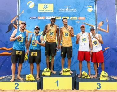 Evandro/André leva ouro em João Pessoa em revanche contra campeões olímpicos