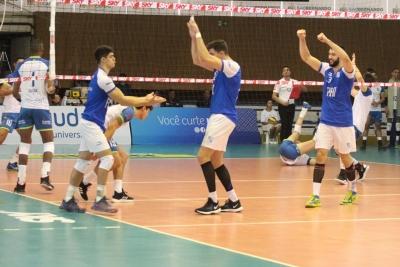 Fiat/Minas conta com força do grupo e vence o São Judas Voleibol