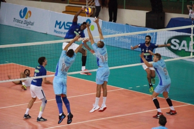 Na casa do adversário, Sesi-SP vence por 3 sets a 0