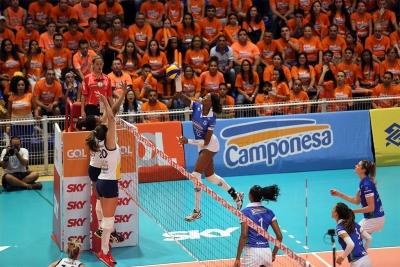 No quinto set, Camponesa/Minas vence Vôlei
