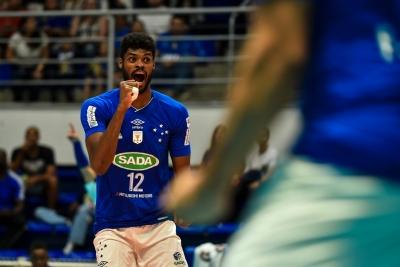Sada Cruzeiro e Caramuru vôlei abrem quarta rodada do turno