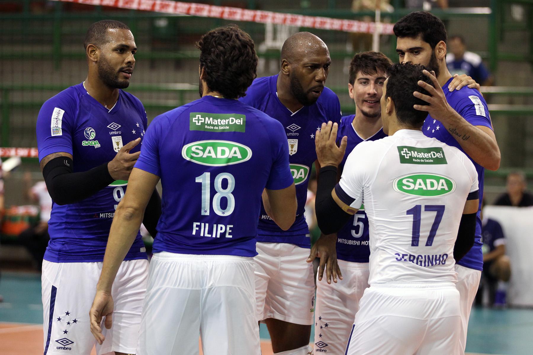 Sada Cruzeiro e JF Vôlei abrem sexta rodada do returno