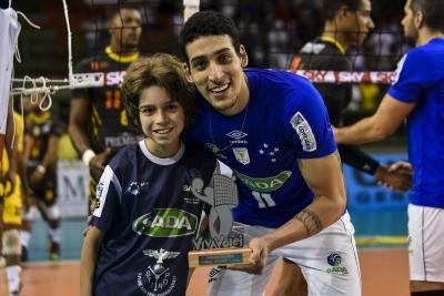 Sada Cruzeiro vence o Caramuru Vôlei na abertura da rodada