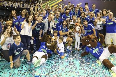 Sada Cruzeiro vence o Sesi-SP e conquista o sexto título
