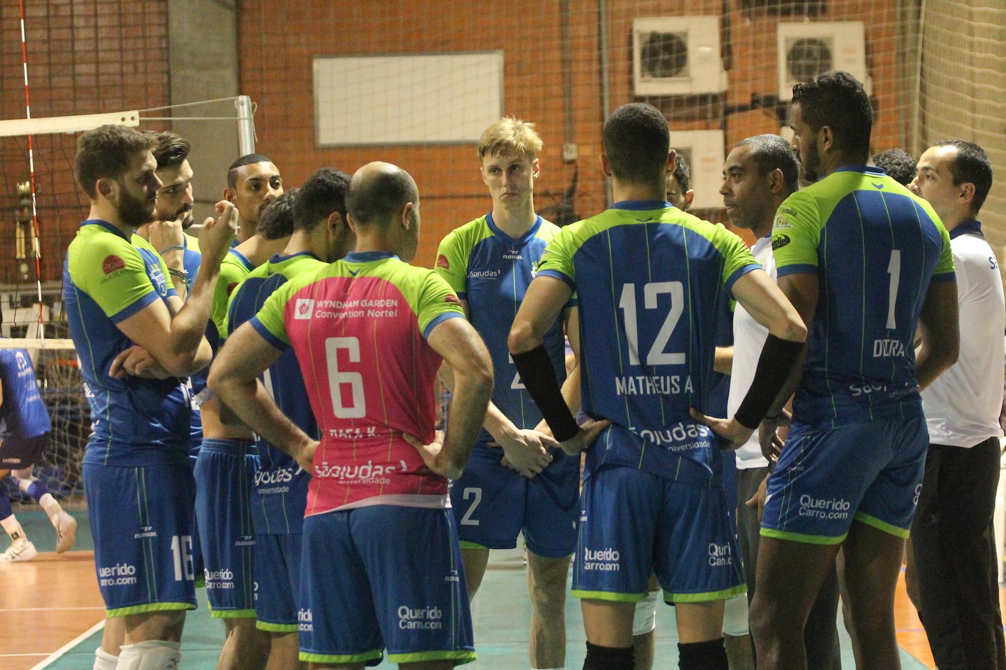 São Judas Voleibol e Sada Cruzeiro se enfrentam nesta quinta-feira